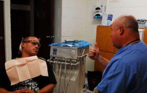 dental clinic busy