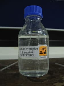 hydroxide solution