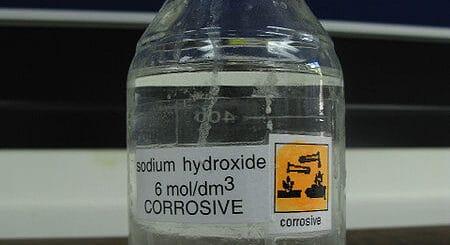 hydroxide solution