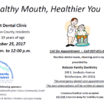 Free Dental Clinic for Logan County, OH Residents on October 25