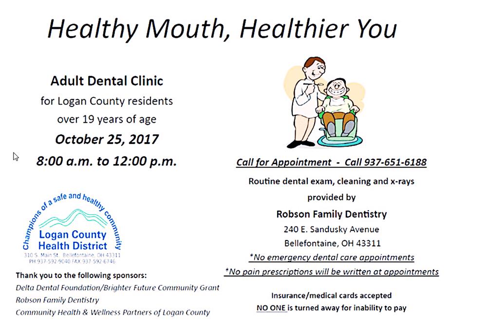 Free dental attention