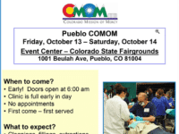 Free Dental Clinic October 13 and 14 at Colorado Mission of Mercy, Pueblo, CO