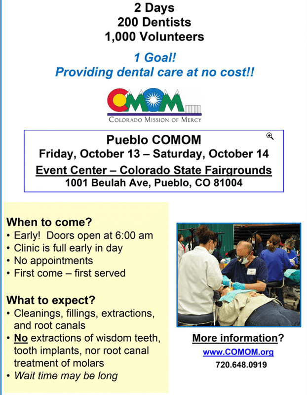 Affordable dental clinic in Pueblo Colorado