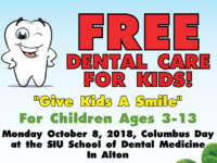 Free Kids Comprehensive Dental Care at Southern Illinois University