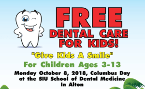 free dental attention to kids