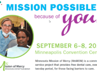 Free Dental Clinic at the Minneapolis Convention Center Sept. 7 and 8