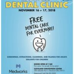 Free Dental Clinic at Cleveland Convention Center Nov. 16 and 17